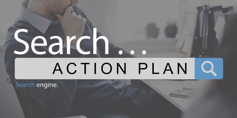 restaurant search action plan