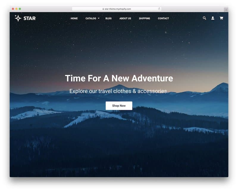 Star shopify themes