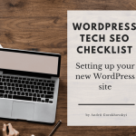 11 Step Wordpress Technical SEO Checklist 2019